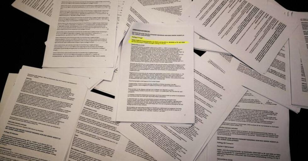 Sommeren 2011 ble stortingsrepresenantene informert om det nye EØS-regelverket som førte til NAV-skandalen, gjennom en e-post på over 135 sider. Foto: Jon-Fredrik Klausen