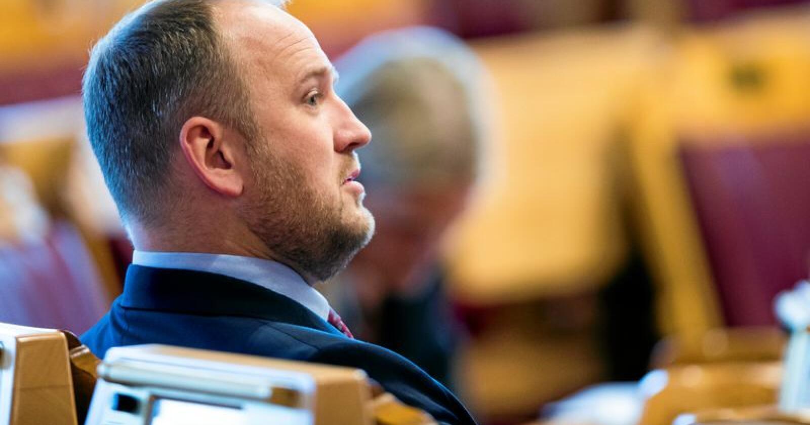 Samferdselsminister Jon Georg Dale (Frp). Foto: Terje Pedersen / NTB scanpix