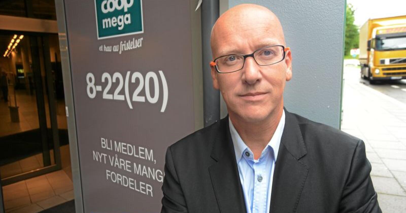 Konsernsjef Geir Inge Stokke i Coop blir bedt om å endre innkjøpspolitikken til selskapet. Foto: Siri Juell Rasmussen