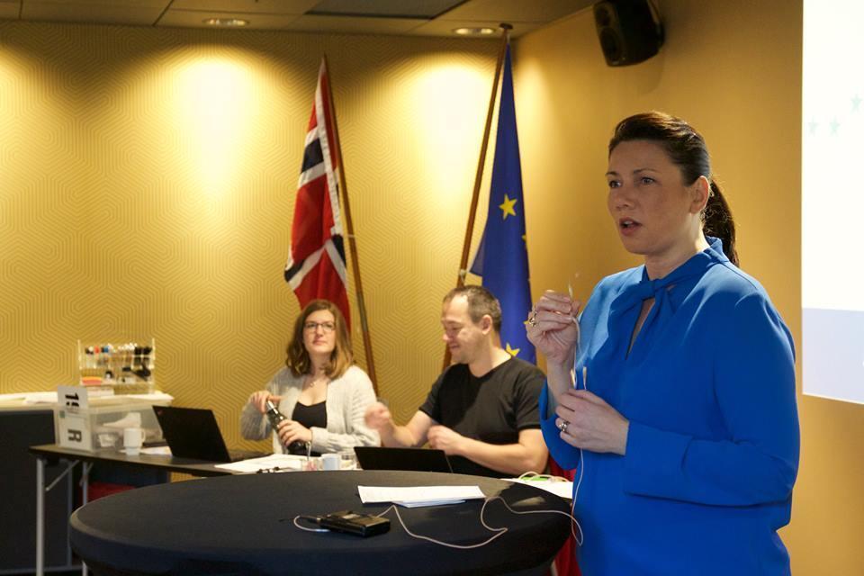 Heidi Nordby Lunde tar over som leder for Europabevegelsen. Foto: Europabevegelsen