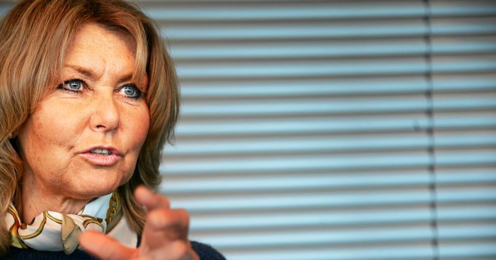 Hanne Alstrup Velure, sentralstyremedlem i Høyre. Foto: Siri Juell Rasmussen