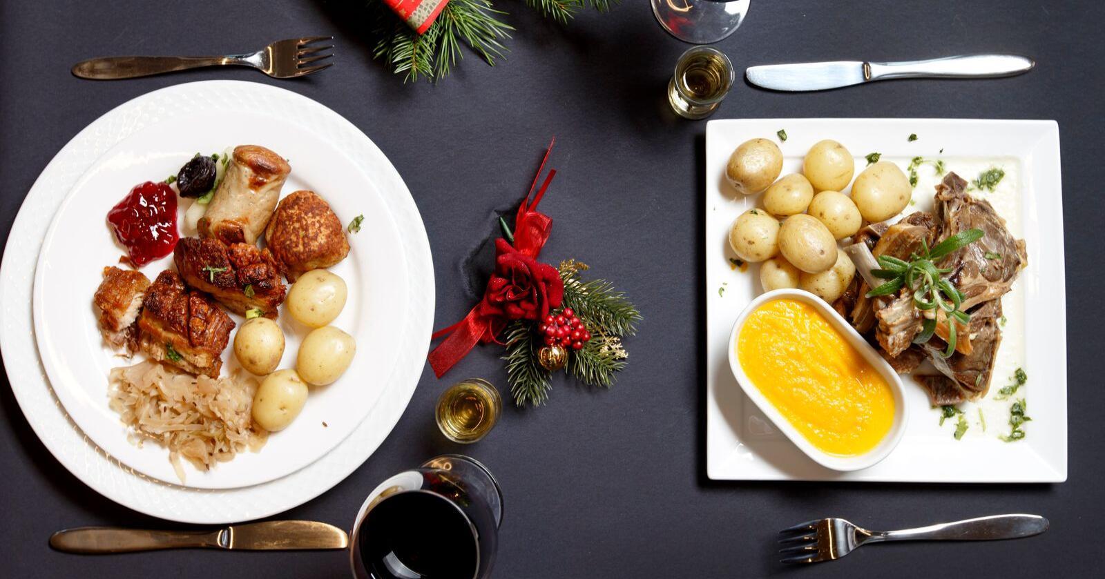 Flesteparten av nordmenn et svineribbe til jul. Foto: Gorm Kallestad / NTB