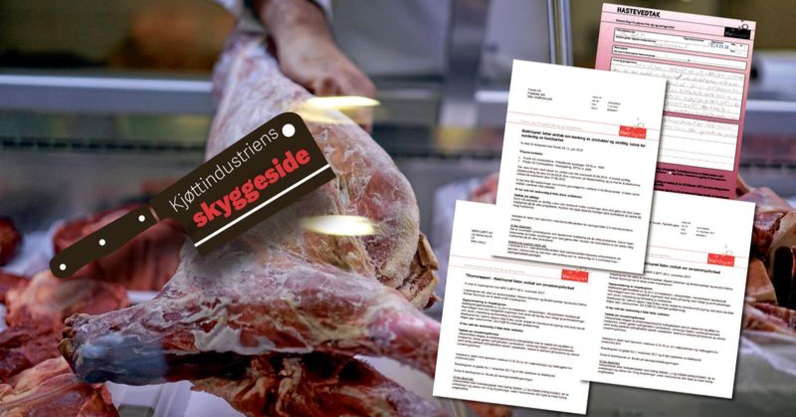 Kjøtt som har passert best før-dato videreselges blant annet til selvstendige kjøttbutikker. Foto: Benjamin Hernes Vogl