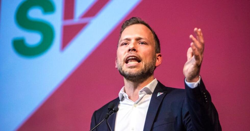 SV-leder Audun Lysbakken vil at Stortinget skal erklære klimakrise. Foto: Ole Berg-Rusten / NTB scanpix