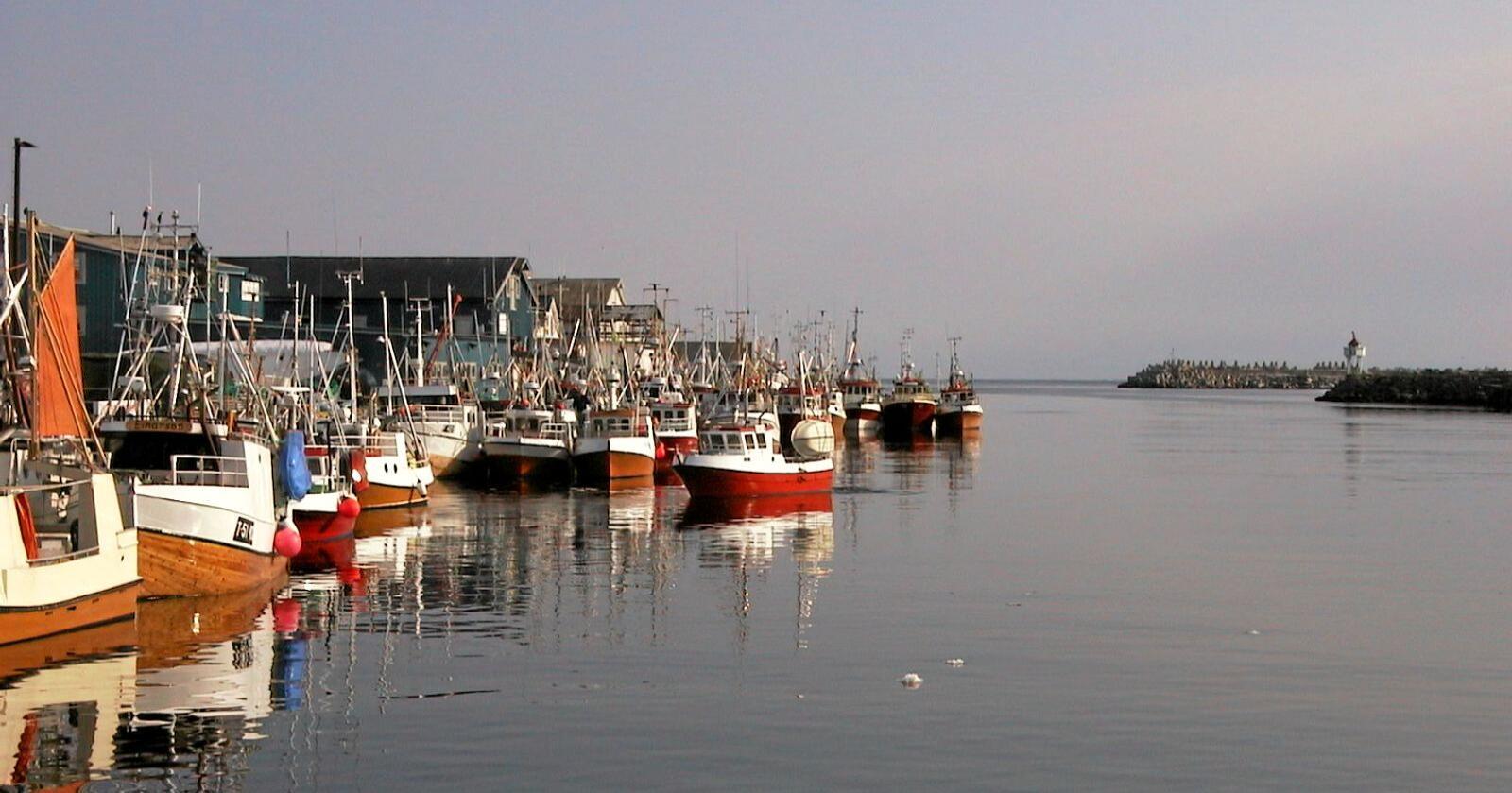 Skiller ikke: Klimatiltakene må fungere, i by som i Berlevåg. Foto: Gisle Stensvold