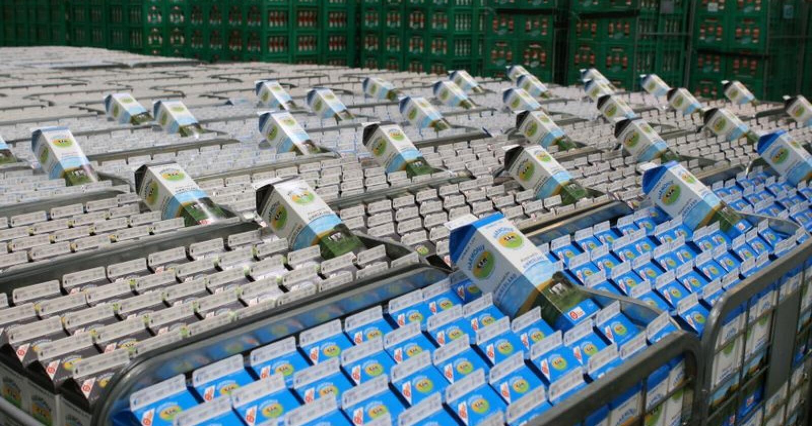 Rekord: Bøndene som har levert til Arla i 2018, får historiske 17,1 danske øre i etterbetaling. (Foto: Arla Foods)
