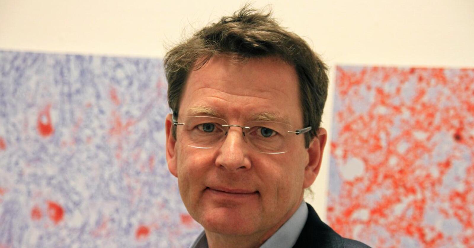 Gaute Lenvik er ansatt som ny administrerende direktør i Norsk Landbrukssamvirke. Foto: Lars Bilit Hagen