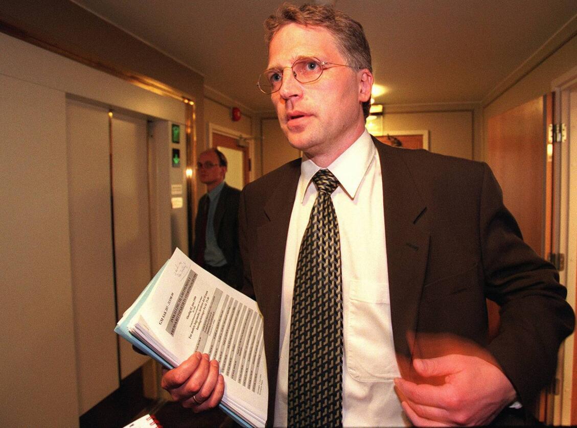 Fremskrittspartiets næringspolitiker Øyvind Korsberg sier blankt nei til å gi Venstre og KrF mer til bøndene. Foto: Knut Fjeldstad / NTB scanpix