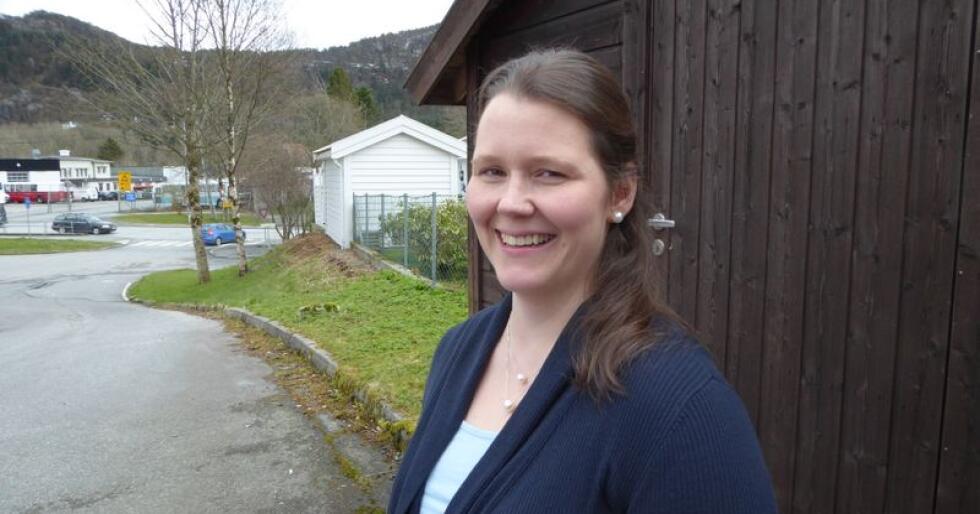 Frøydis Haugen, 2. nestleder i Norges Bondelag, mener jordvernutviklinga er bekymringsfull