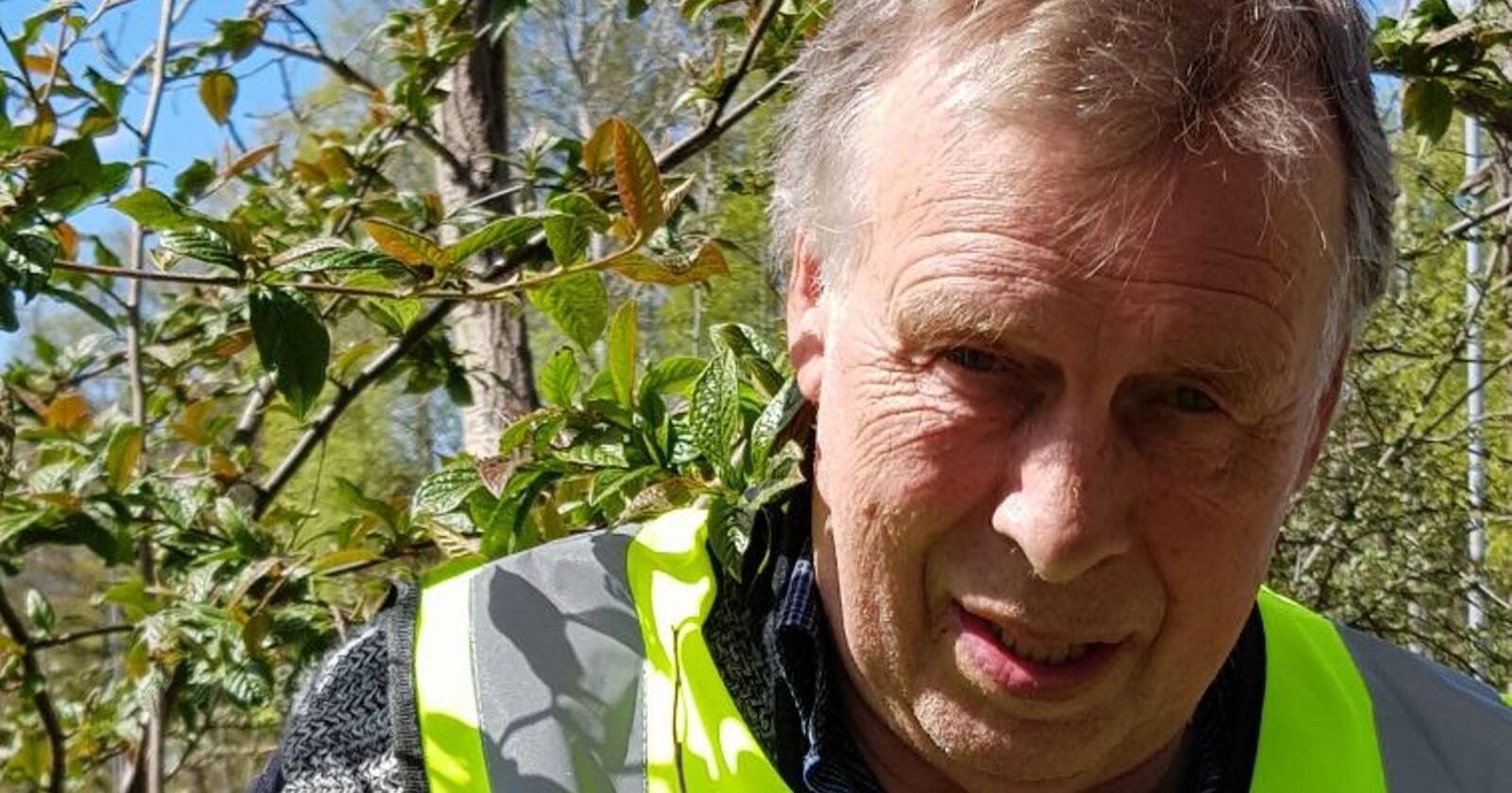 planteinspektør Nils S. Melbøe i Mattilsynet