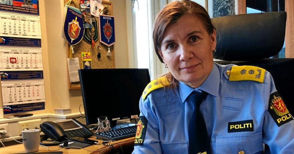 Ellen Katrine Hætta, politimester i Finnmark. Foto: Politiet