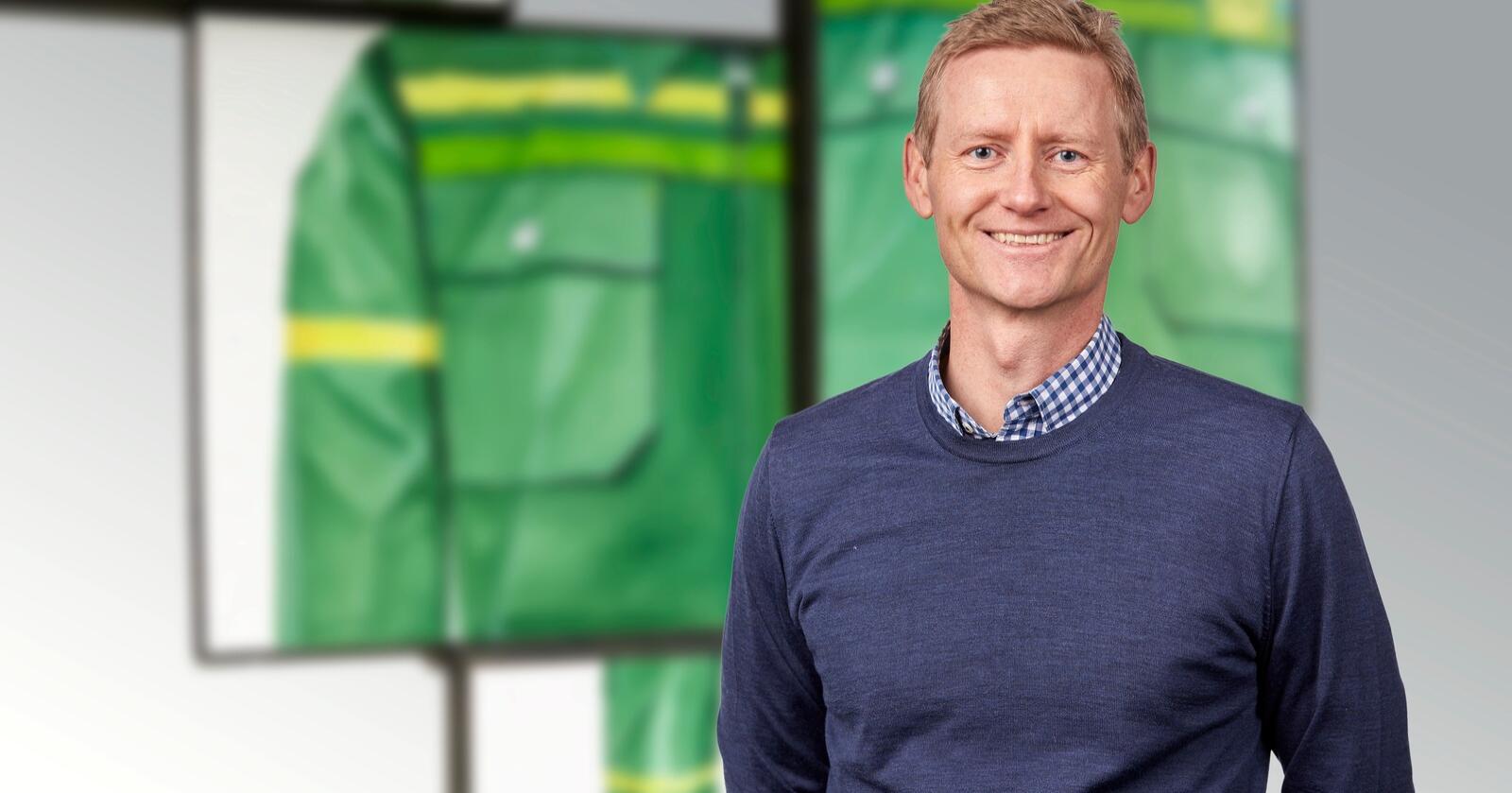 Svenn Ivar Fure er ny konsernsjef i Felleskjøpet Agri. Foto: Felleskjøpet