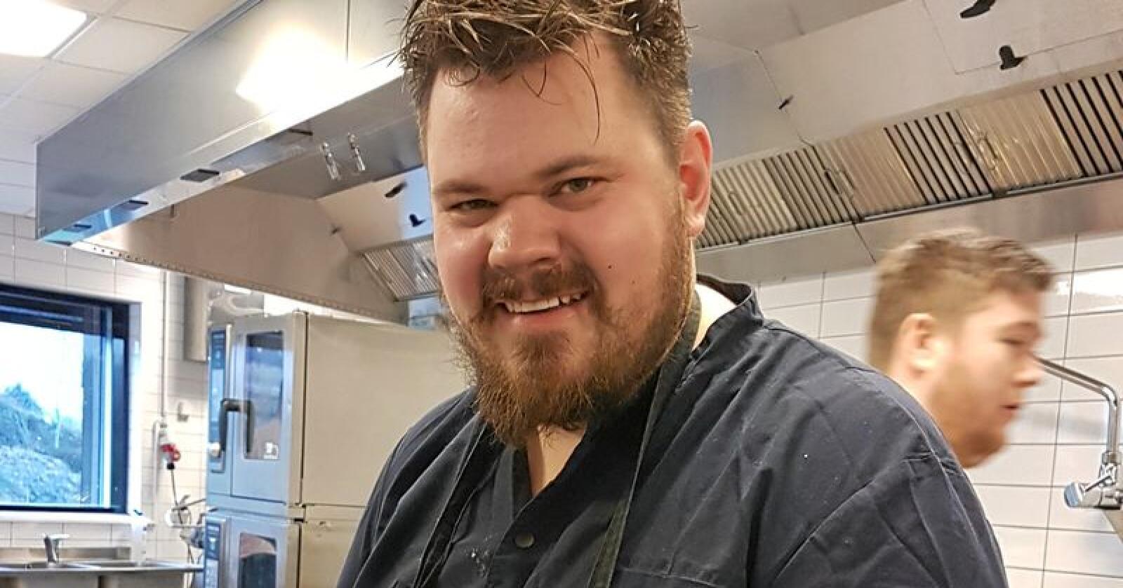 Halvar Ellingsen, er den nye Bondelagskokken. Foto: Ann C. Wangberg, Norges Bondelag
