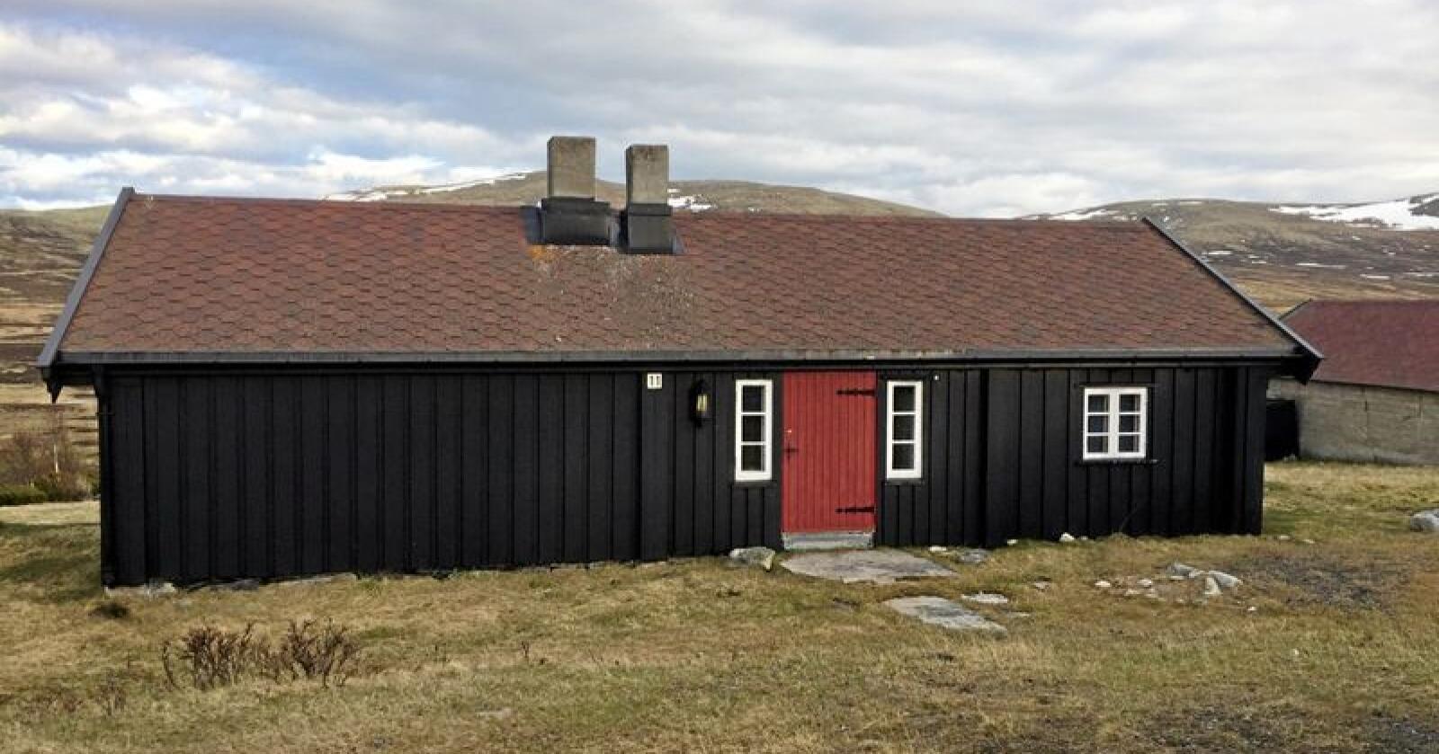Ulikt: Seterdrifta i Vesllie (bildet) og turisthyttedrifta på Snøheim tok slutt på 50-tallet. Turisthytta er igjen i drift - setra skal rives Foto: Forsvarsbygg