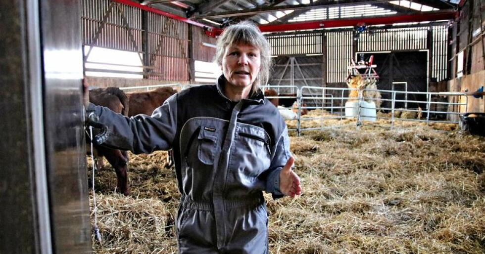 Kjersti Hoff er leder i Norsk Bonde og Småbrukarlag. (Arkivfoto)