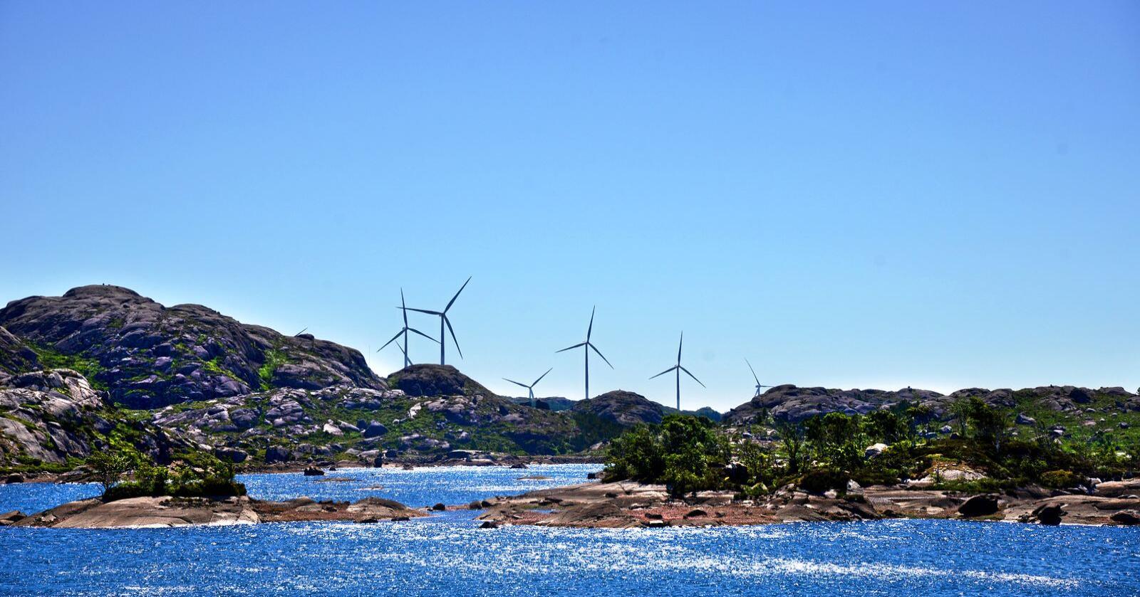 Vindkraft: Hva må man akseptere?  Foto: Siri Juell Rasmussen