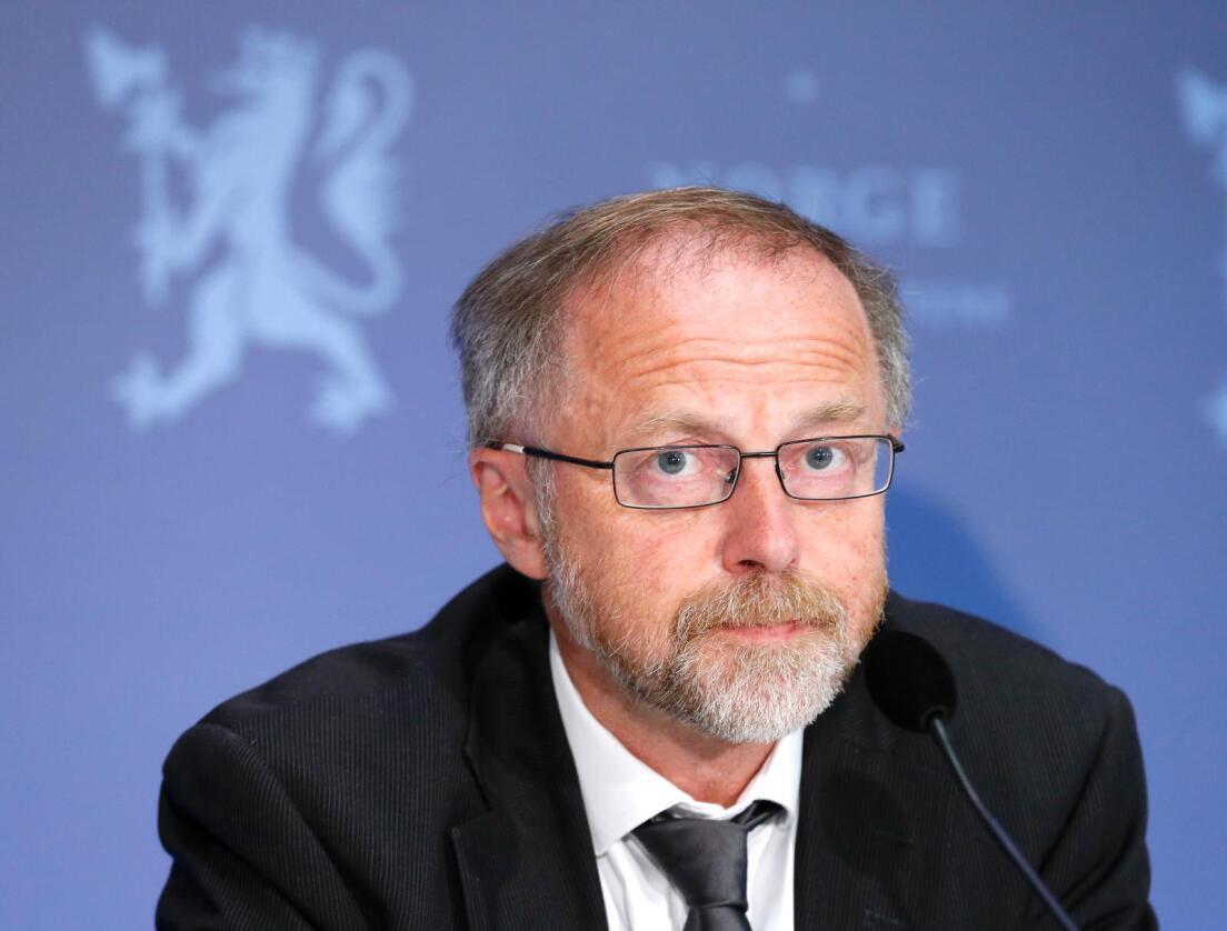 Statens forhandlingsleder Leif Forsell. Foto: Erik Johansen / NTB scanpix