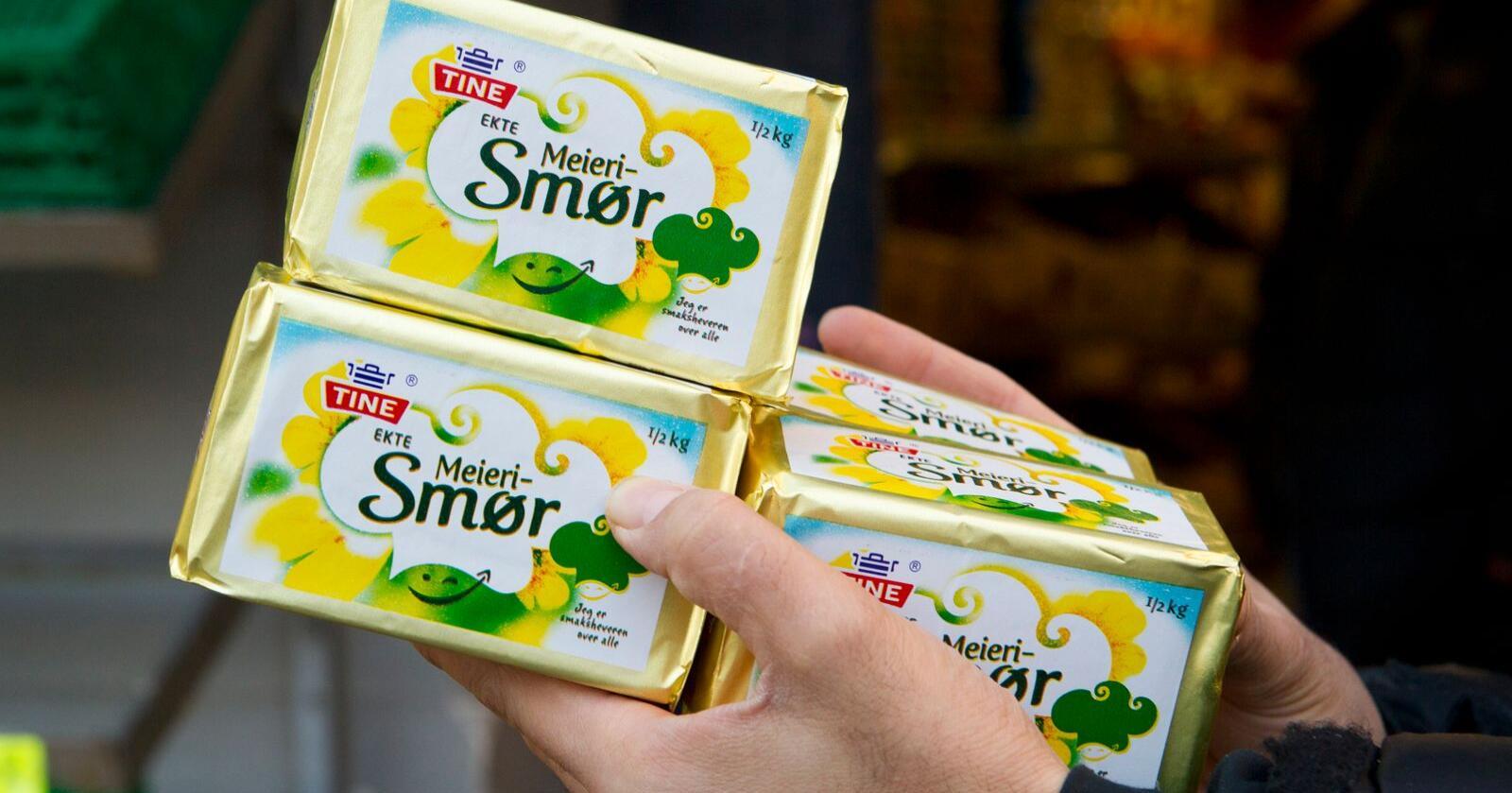 I 2011 hamstret nordmenn smør på grunn av smørmangel. Foto: Heiko Junge / NTB