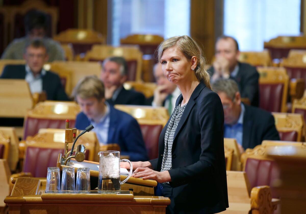 Ap-politiker Marianne Marthinsen.Foto: Vidar Ruud / NTB