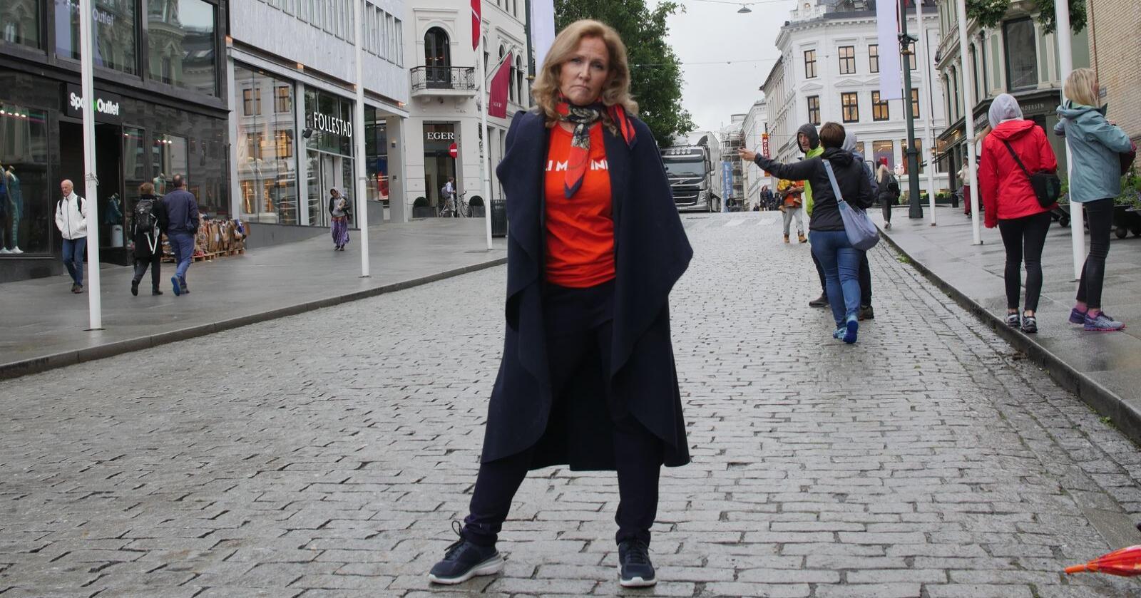 Guri Wormdahl, kommunikasjonssjef Norges Pelsdyralslag. Foto: Benjamin Hernes Vogl