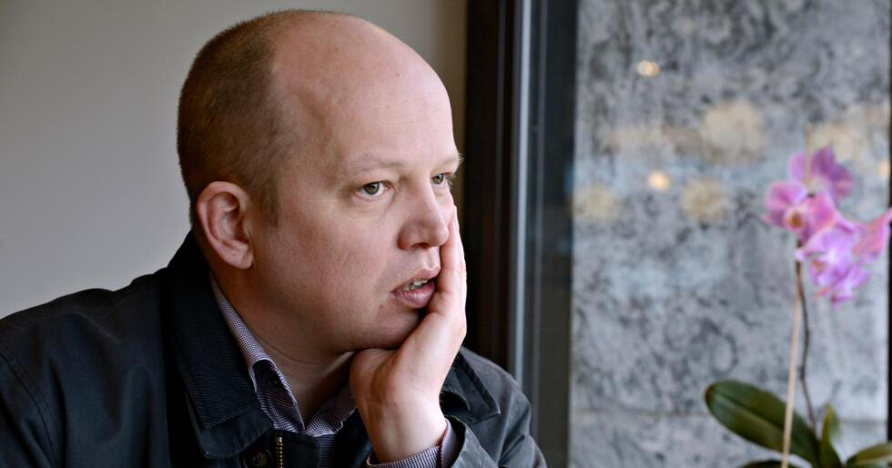 Vag: Trygve Slagsvold Vedum mener partiets metoo-aktør Dag Rønning er moden for nye tillitsverv i Sp under to måneder etter fallet. Foto:Mariann Tvete