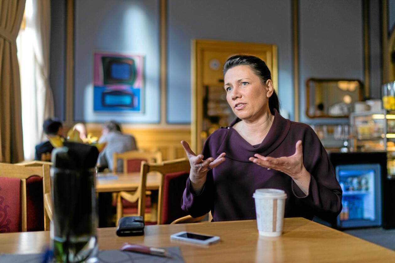Støtte: Over halvparten stør EØS-avtalen, støtta til norsk EU-medlemskap burde dermed ha vore sterkare, seier Europabevegelsens leiar Heidi Nordby Lunde. Foto: Ketil Blom Haugstulen