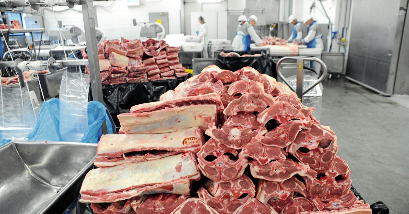 Det er stans i produksjonen ved Nortura Gol etter et utbrudd av koronaviruset blant ansatte. Foto: Mariann Tvete