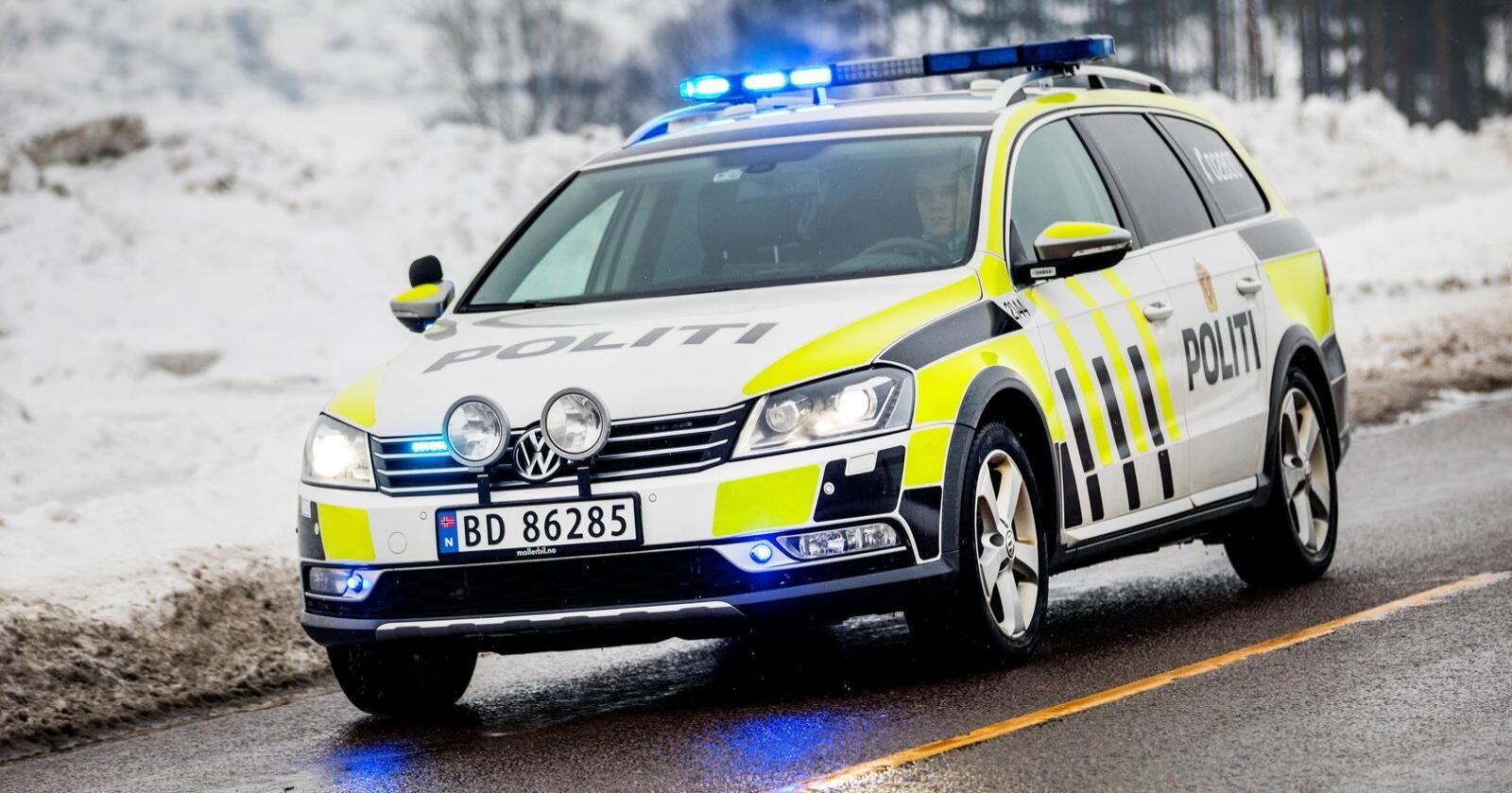 Politiet innfridde de nasjonale kravene til responstid i fjor. Illustrasjonsfoto: Gorm Kallestad / NTB