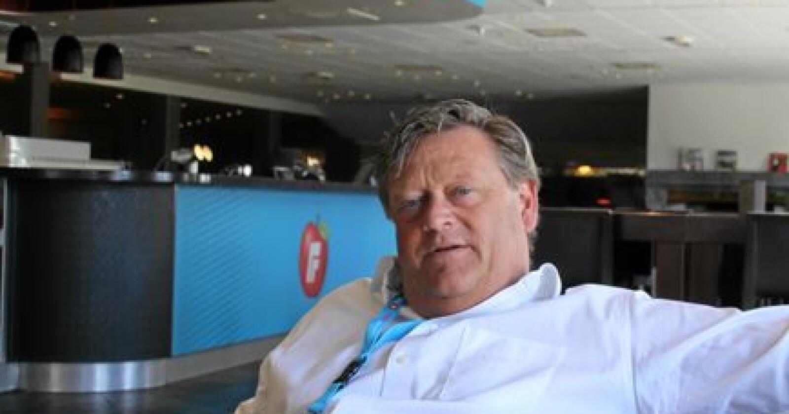 Fiskeri- og sjømatminister Harald Tom Nesvik.  Foto: Janne Grete Aspen