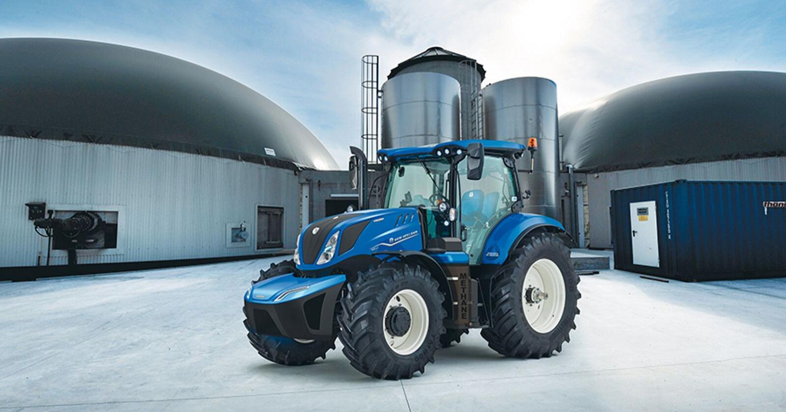 Produksjonen av den nye New Holland T6 180 traktoren med gassdrevet motor utsettes