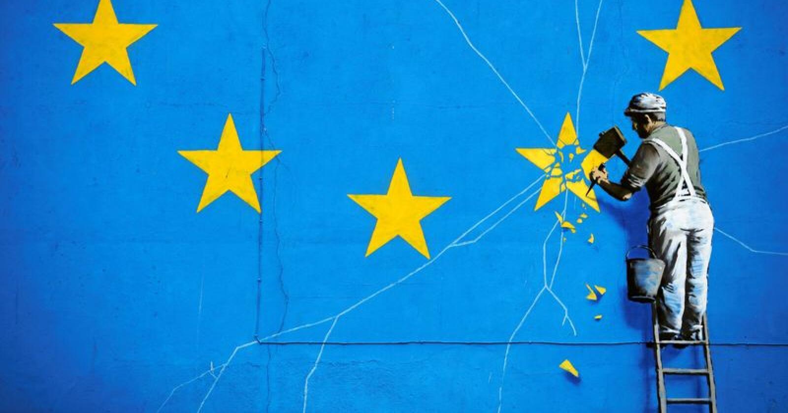 Ifølge avisen Telegraph diskuterer britene og EU mulighetene for å forsinke utmeldingen. Illustrasjonsfoto: AP / NTB scanpix