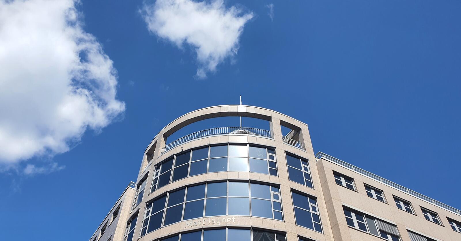 Mattilsynets nye hovedkontor i Oslo sentrum. Foto: Ola Karlsen