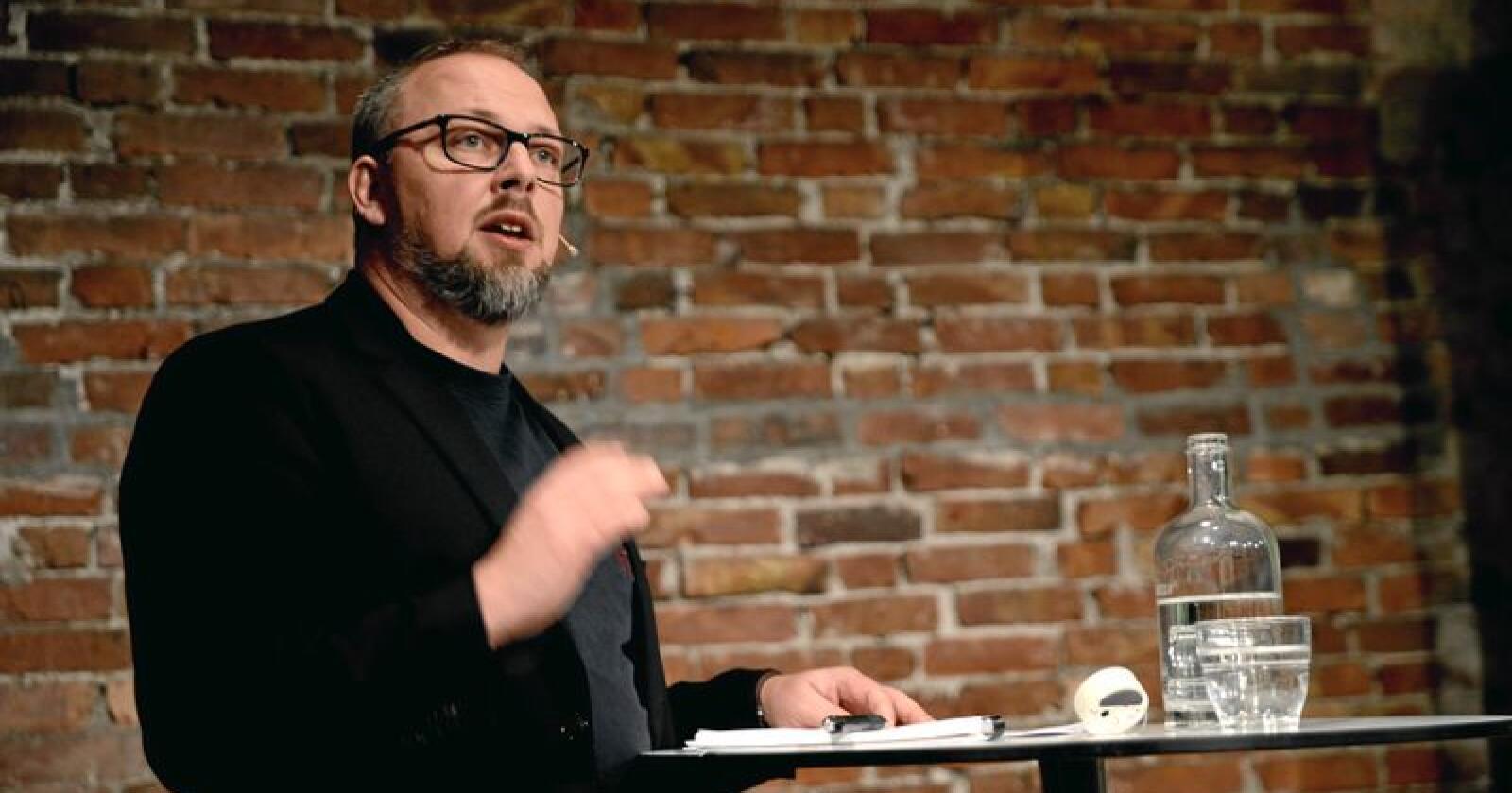 Politisk redaktør i Nationen mener import er den største trusselen mot norsk matindustri. Foto: Mariann Tvete