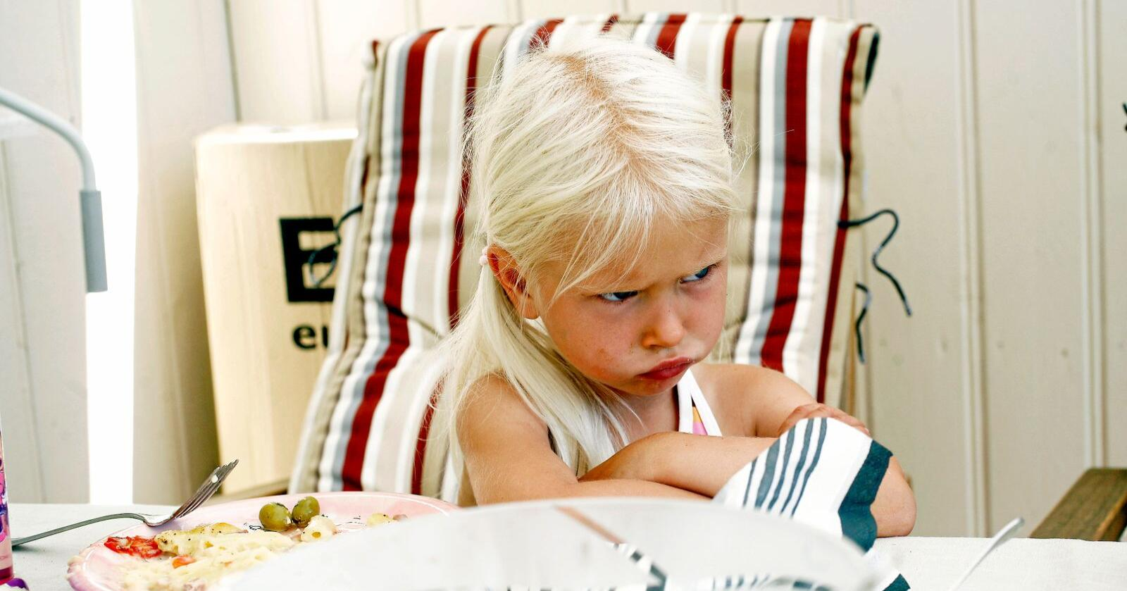 Spiser for lite fisk: Barn spiser mer godteri enn fisk. Foto: Sara Johannessen / NTB scanpix