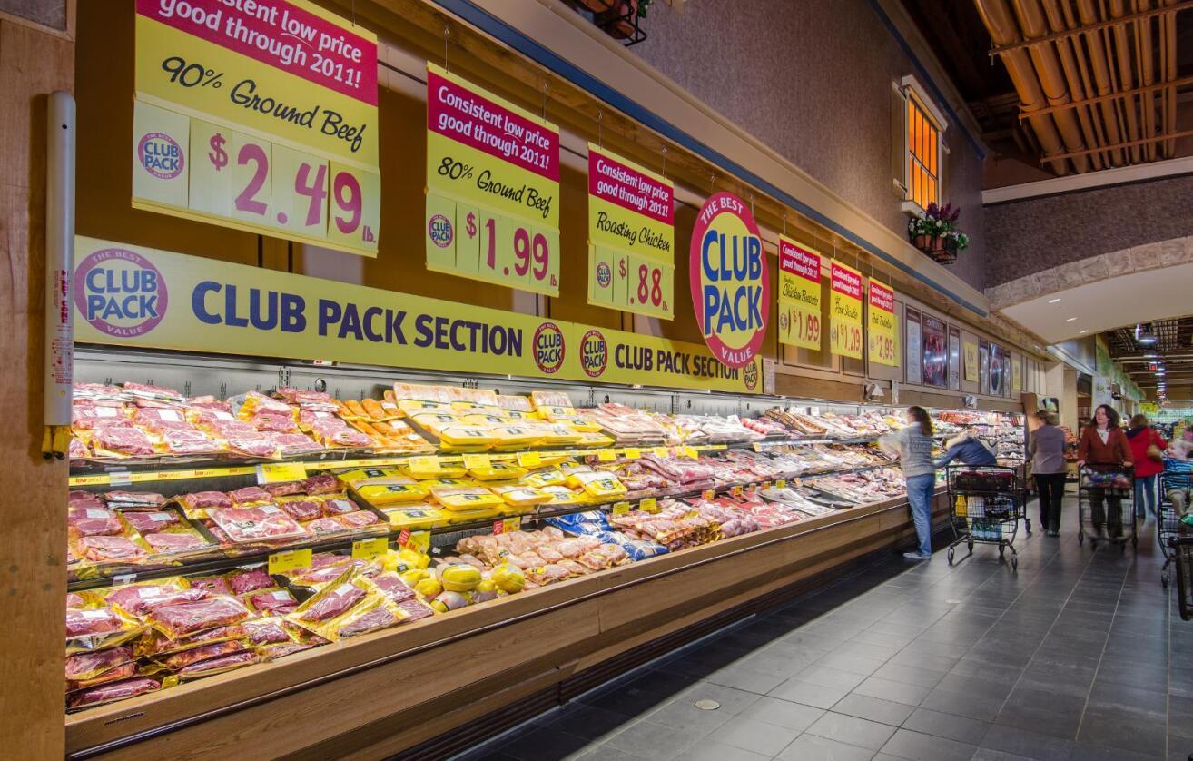 Lavpris: Volum- og prispresset er stort i amerikansk kjøttproduksjon. Det merker amerikanske bønder. Foto: Lance Chueng / USDA
