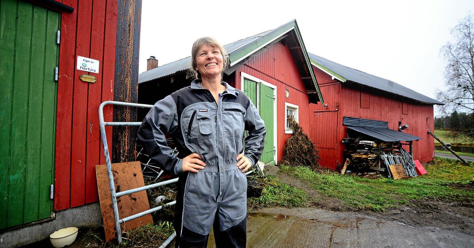 Hvert land har ansvar for å sikre sin egen befolkning nok mat, skriver leder Kjersti Hoff i Småbrukarlaget. Foto: Siri Juell Rasmussen