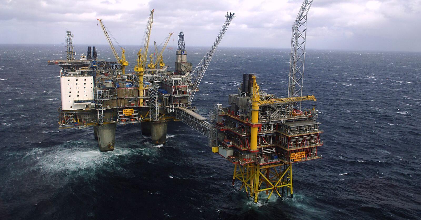 Norsk eksport gikk ned 7,8 prosent fra januar i fjor til januar i år. Lavere eksportverdi for naturgasser er hovedforklaringen. Arkivfotofoto: Helge Hansen / NTB scanpix