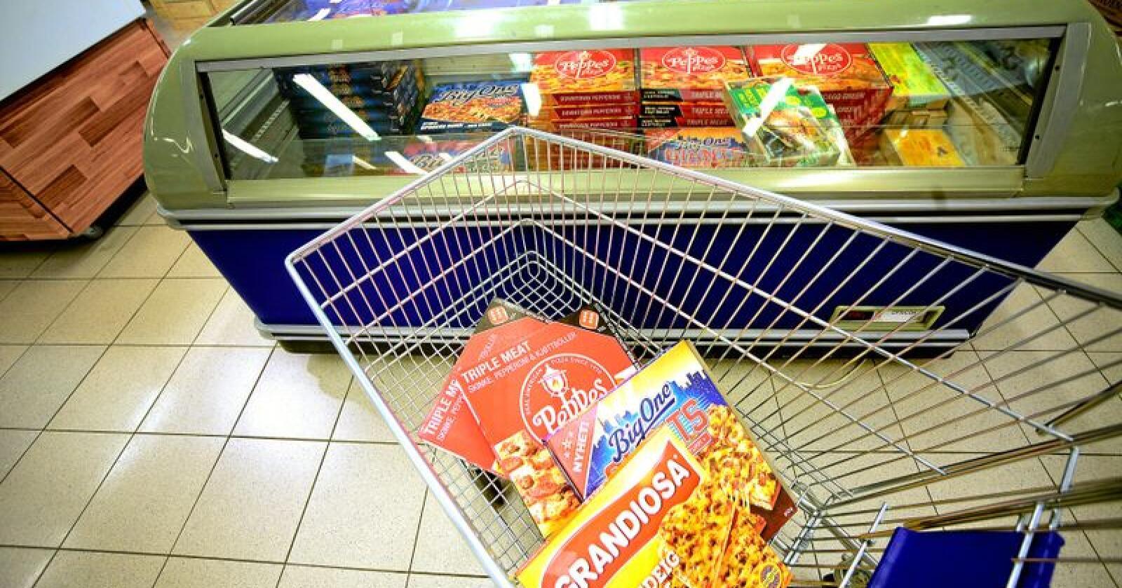 Høyprosessert: Most, redigert, tilsatt og ofte utenlandsk mat vinner i matfatet. Foto: Siri Juell Rasmussen