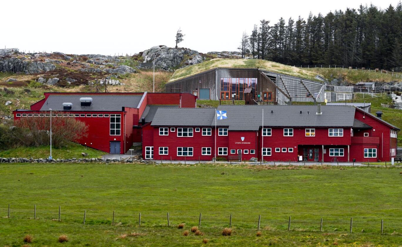 Utsira i Rogaland er en av fem kommuner i Norge som fortsatt ikke har hatt smittetilfeller av covid-19. Foto: Jan Kåre Ness/NTB