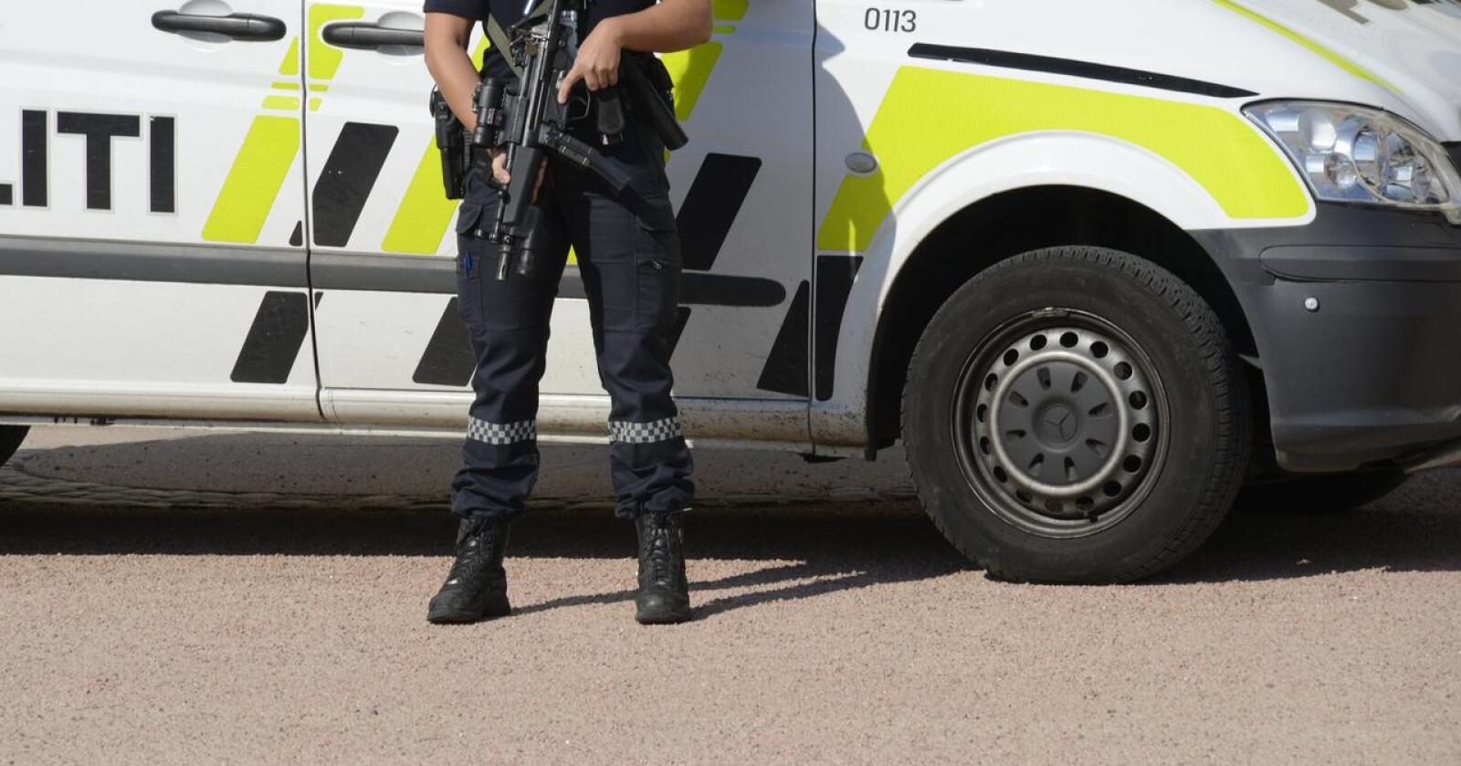 – Det lokale politiet i hele landet må styrkes, står det i Regjeringsplattformen ble lagt fram i Hurdal onsdag. Foto: Mariann Tvete