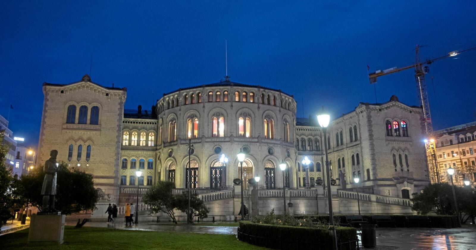 I 2021 er det nytt stortingsvalg. Foto: Terje Pedersen / NTB scanpix