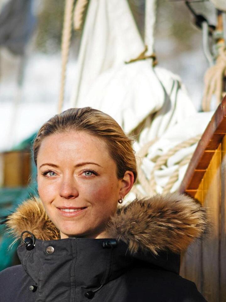 Mer bærekraft: Skuta til Agnes Árnadóttir har kun seil og batteri som drivkraft. Foto: Peter Schön