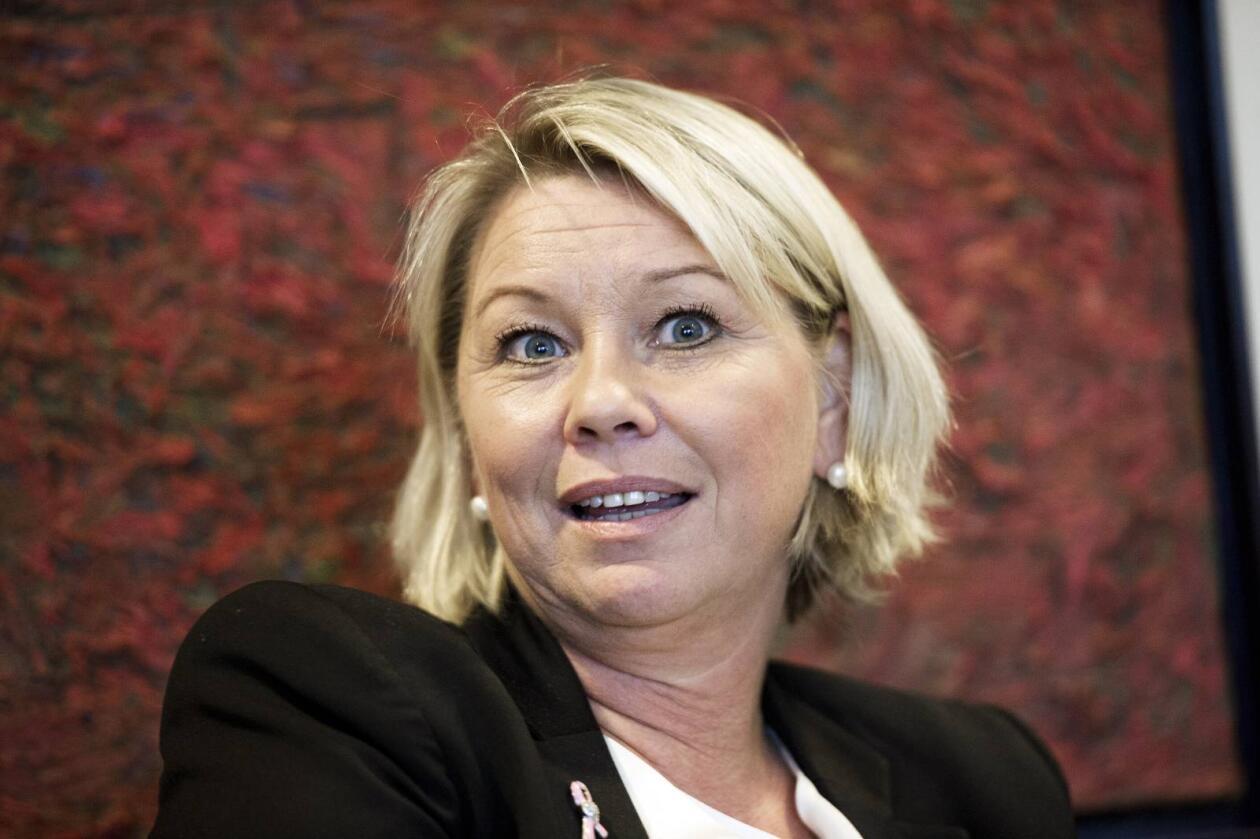Opprydning: Næringsminister Monica Mæland skal gjennomgå styremedlemmene i statlige selskaper. Foto: NTB scanpix