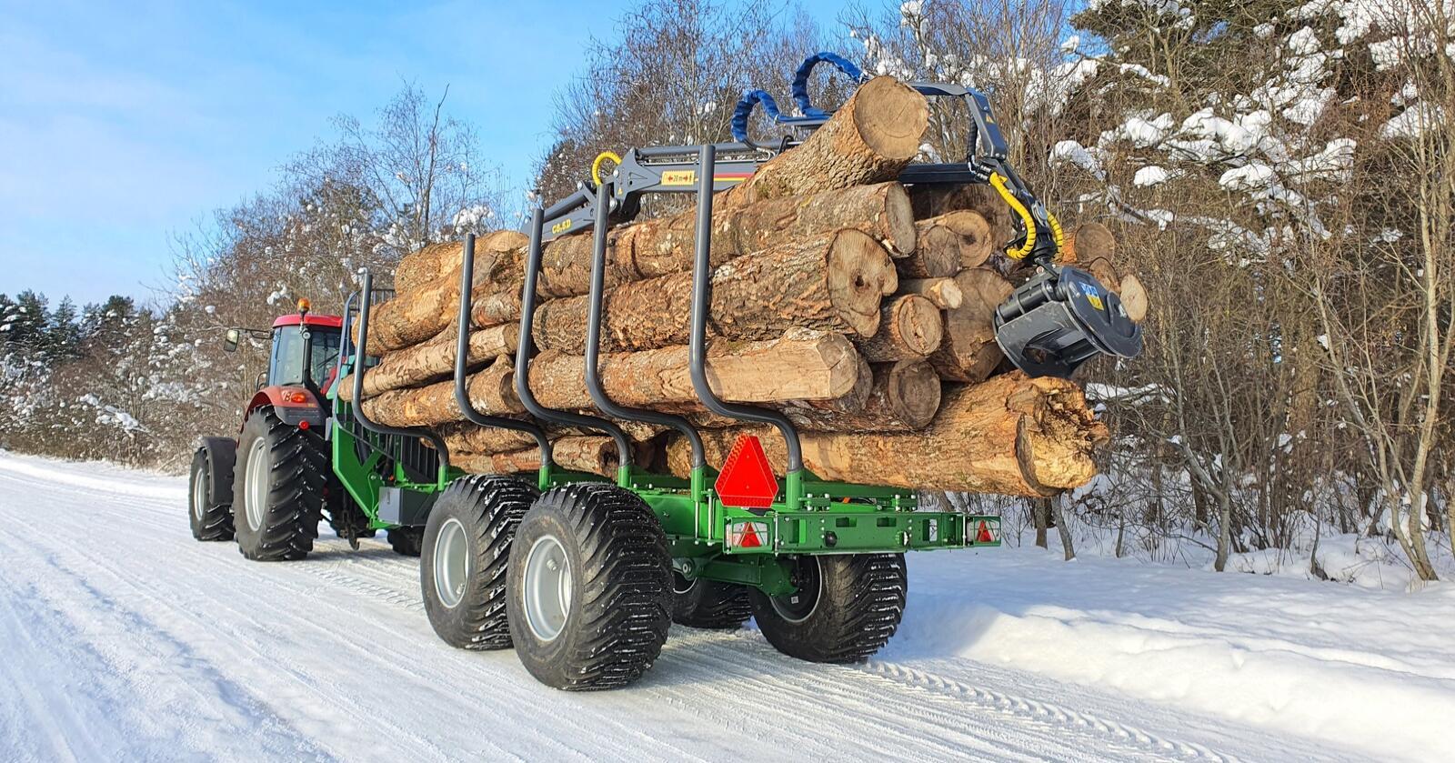 Størst: T17 er Farmas største vogn til nå, og med lasteareal på 3,3m2 og en lastelengde på 5 400 mm gjør at Farmas nye vogn ruver skikkelig
