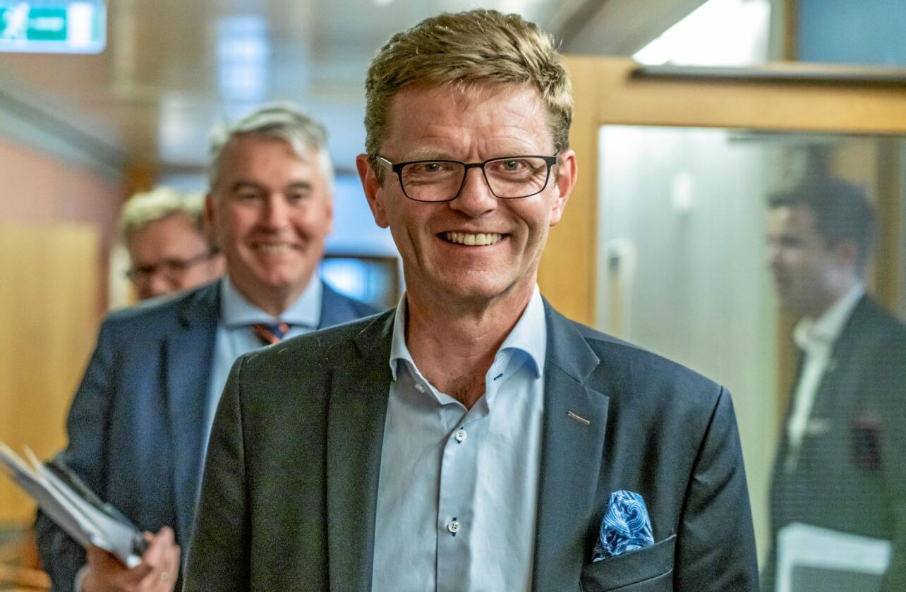 Venstre har funnet sin drømmeregjering og må ha selvtillit nok til å si nei til et fremtidig regjeringssamarbeid med Frp, mener Venstre-nestleder Terje Breivik. Foto: Ole Berg-Rusten / NTB scanpix