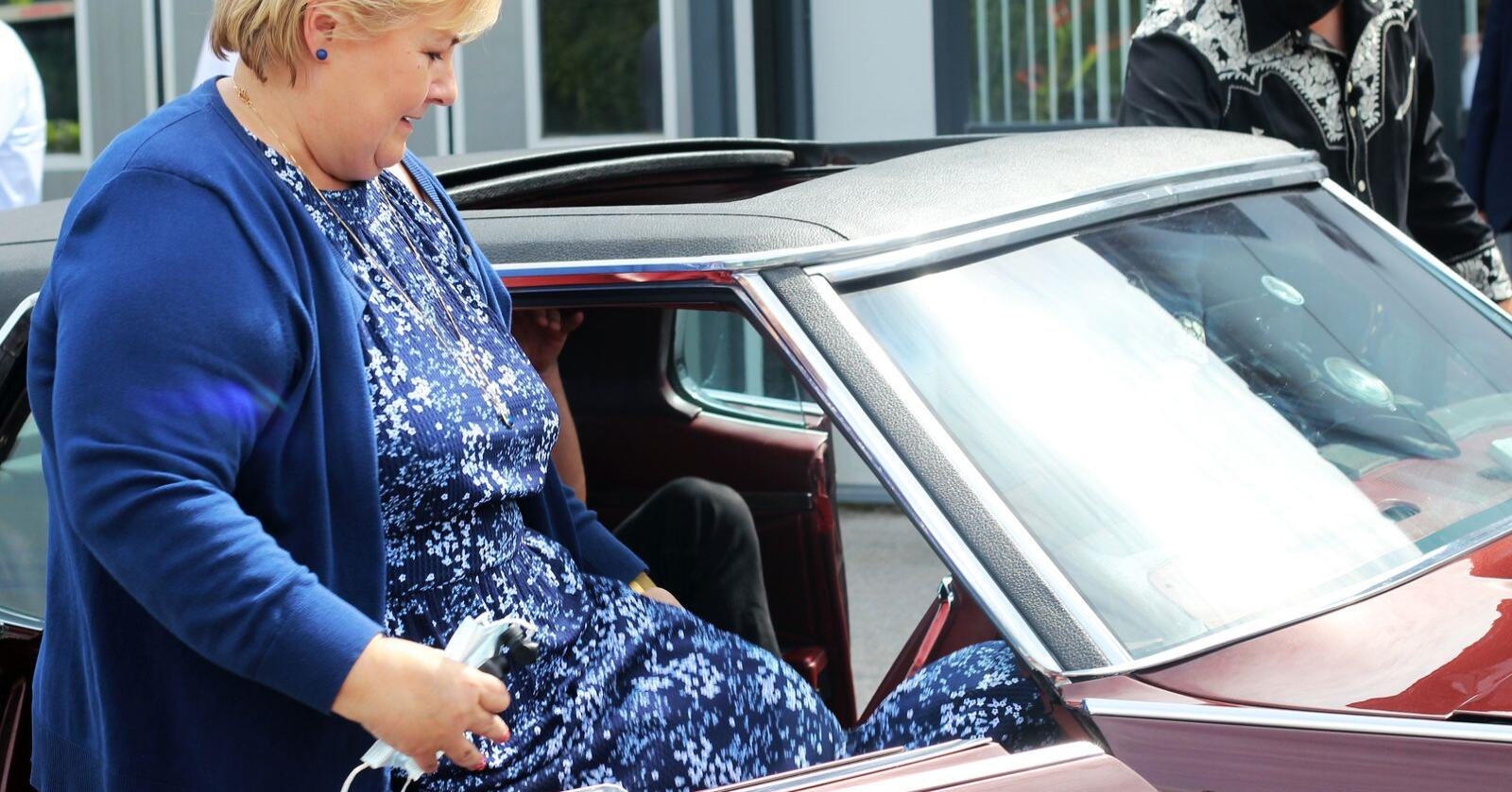 På vei: Hvor fører statsminister Erna Solbergs ABE-reform oss? Foto: Tone Magni Finstad Vestheim