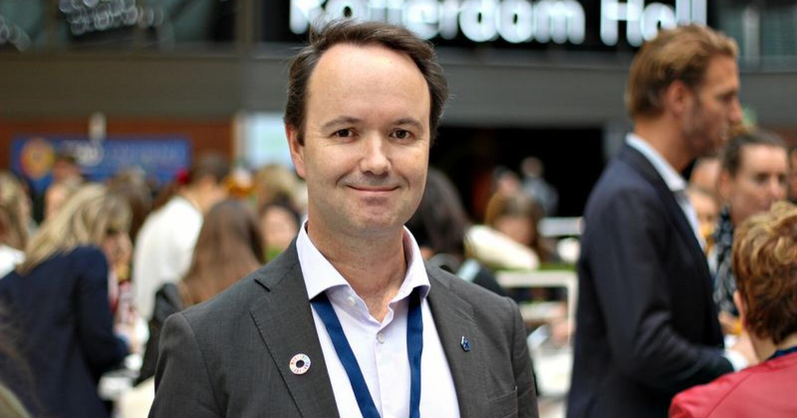 – Mattilsynet er viktig i arbeidet for å få bedre dyrevelferd, sier Arnt Steffensen, leder i kost- og ernæringsforbundet i Delta. (Foto: Privat)