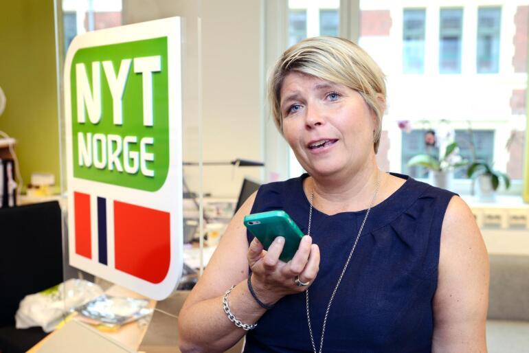 Sølvi Enger-Kaupang er generalsekretær i 4H Norge. Foto: Yvonne Holth