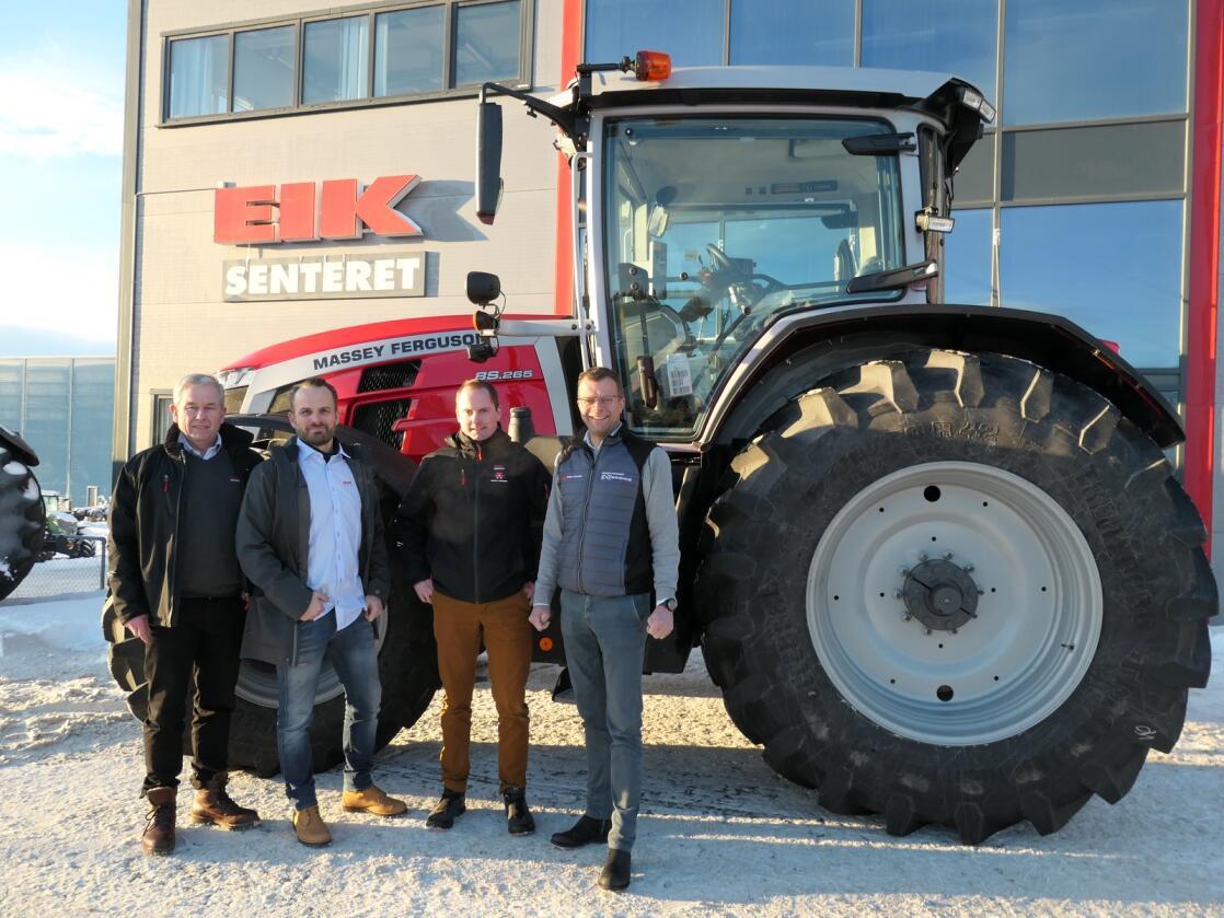 Styrker laget: Med Ketil Nypan på plass som produktsjef er det nå disse fire som utgjør ledergruppen i Eiksenteret Midt-Norge. Fra venstre Øyvind Wekre, Ketil Nypan, Ola Tande og Jon Magne Sæter.