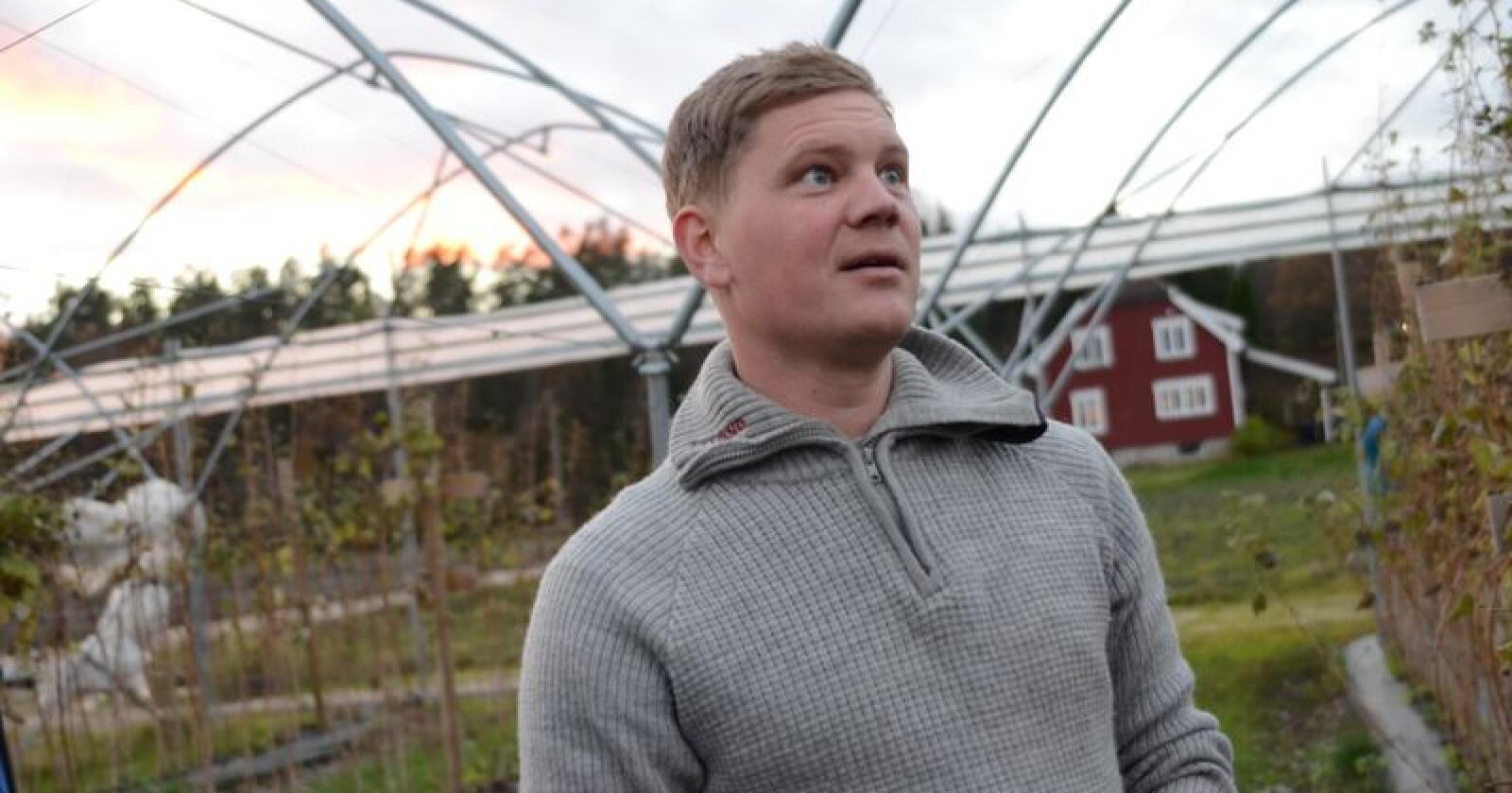 Bjørn Vigre har deltatt i mentorprosjektet «Bonde hjelper bonde». 1. desember er det søknadsfrist for 2018.